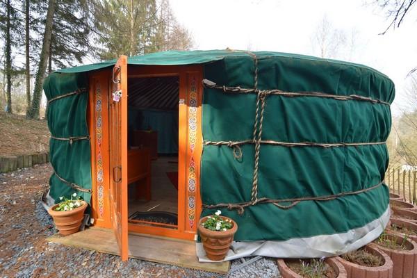 origineel overnachten yurt houffalize (10)