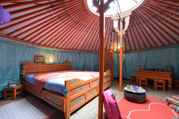 origineel overnachten yurt houffalize (3)