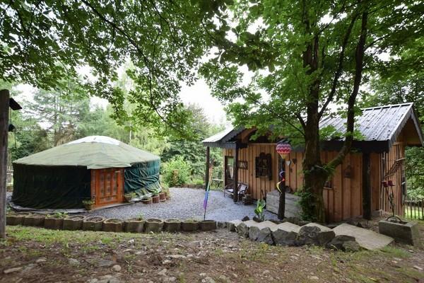origineel overnachten yurt houffalize (9)