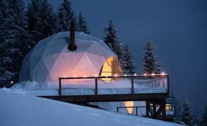 originele wintersport accommodatie zwitserland