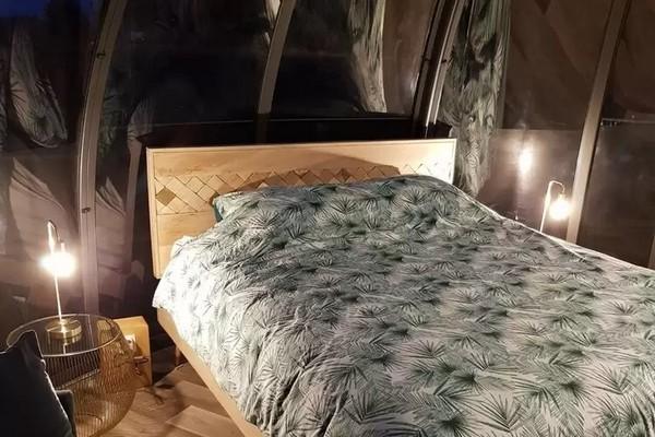 romantisch overnachten in de hoge venen