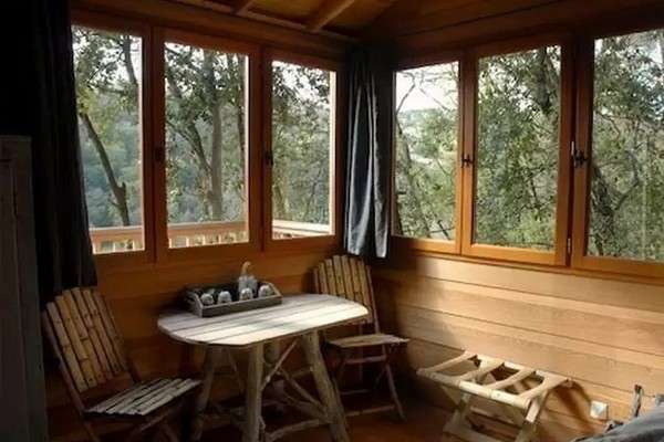 slapen boomhut frankrijk (2)
