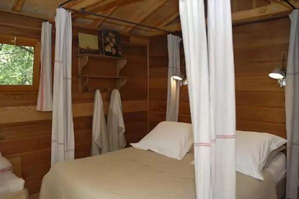slapen boomhut frankrijk (3)
