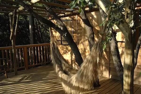 slapen boomhut frankrijk (8)