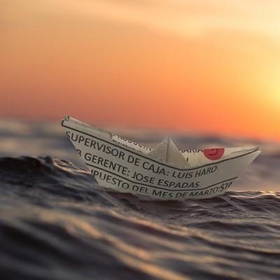origineel overnachten op het water