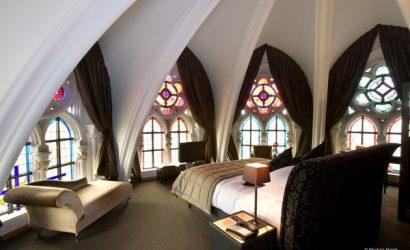 uniek overnachten kerk mechelen belgie