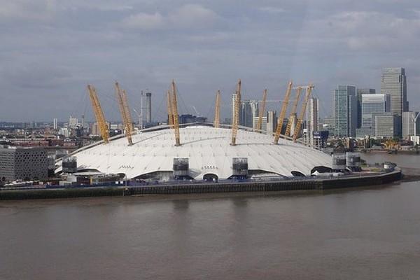 origineel overnachten Londen O2 arena