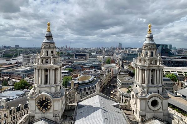 origineel overnachten Londen St Paul's cathedral