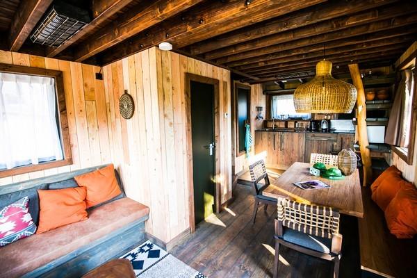 Origineel overnachten boomhut Beekse Bergen