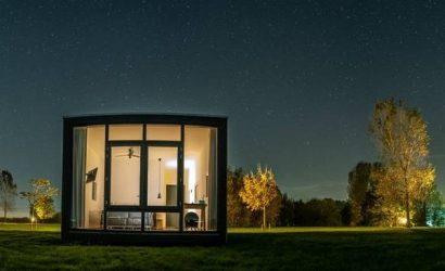 romantisch overnachten nederland tiny house