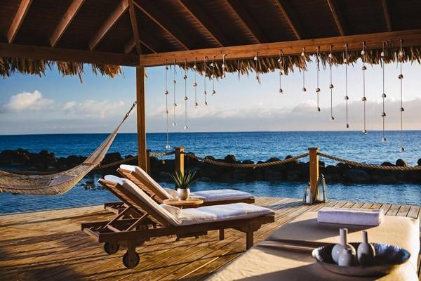 origineel overnachten huwelijksreis Aruba