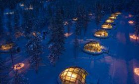 origineel overnachten huwelijksreis finland