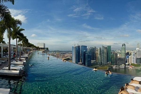 origineel overnachten huwelijksreis Singapore