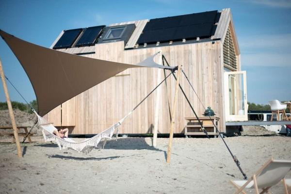 origineel overnachten strandhuis grevelingenmeer
