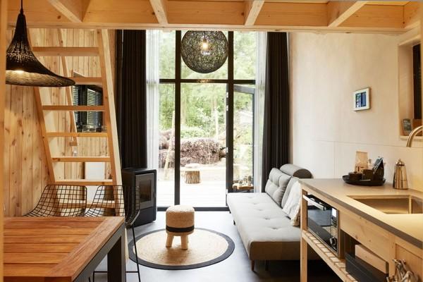 origineel overnachten tiny house nederland