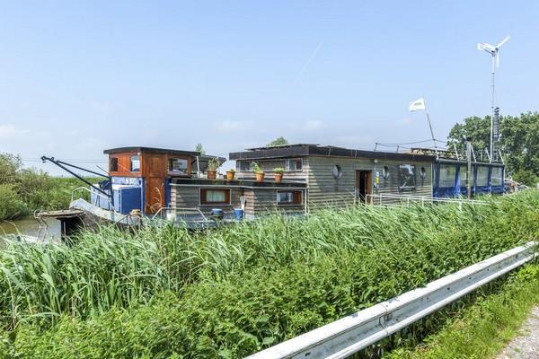 origineel overnachten boot België Westhoek