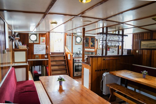 origineel overnachten boot Nederland Rotterdam