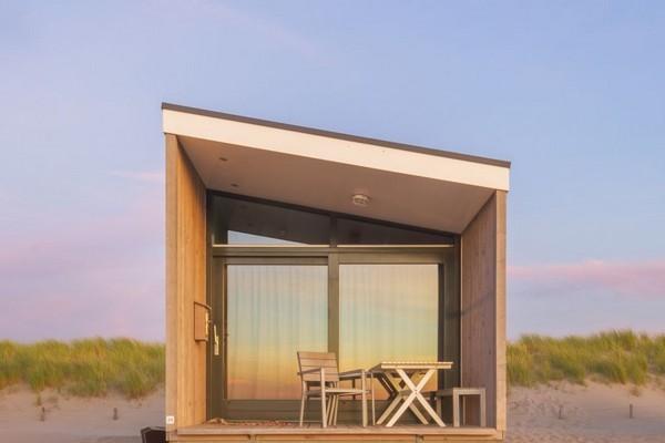 uniek logeren strandhuis den haag