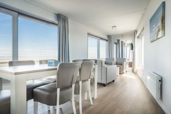 bijzonder overnachten penthouse blankenberge zee