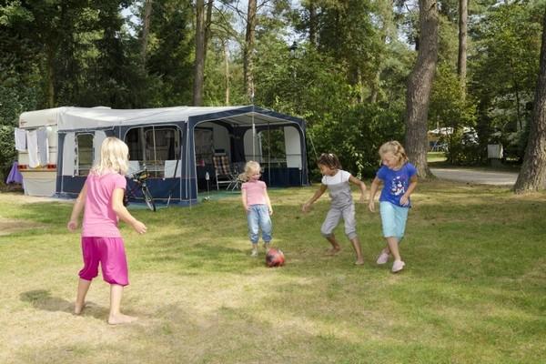 kamperen gezin kinderen camping