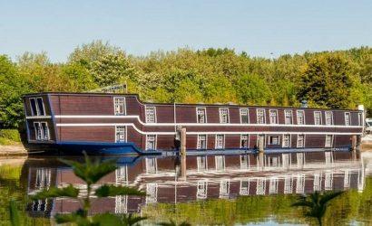 origineel overnachten boot brugge