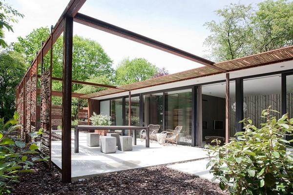 origineel overnachten villa natuur bos luxe (7)
