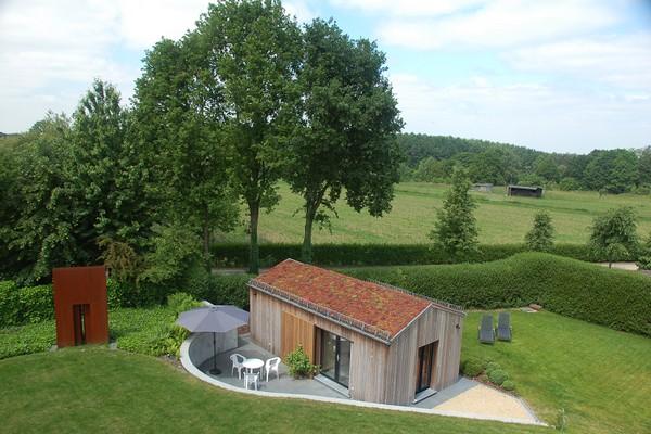 tiny house belgie hageland origineel overnachten