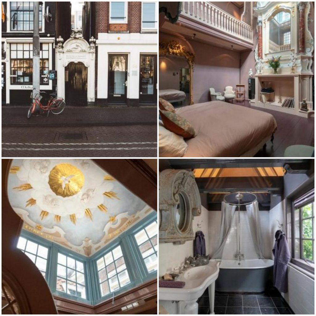 romantisch overnachten kerk amsterdam nederland