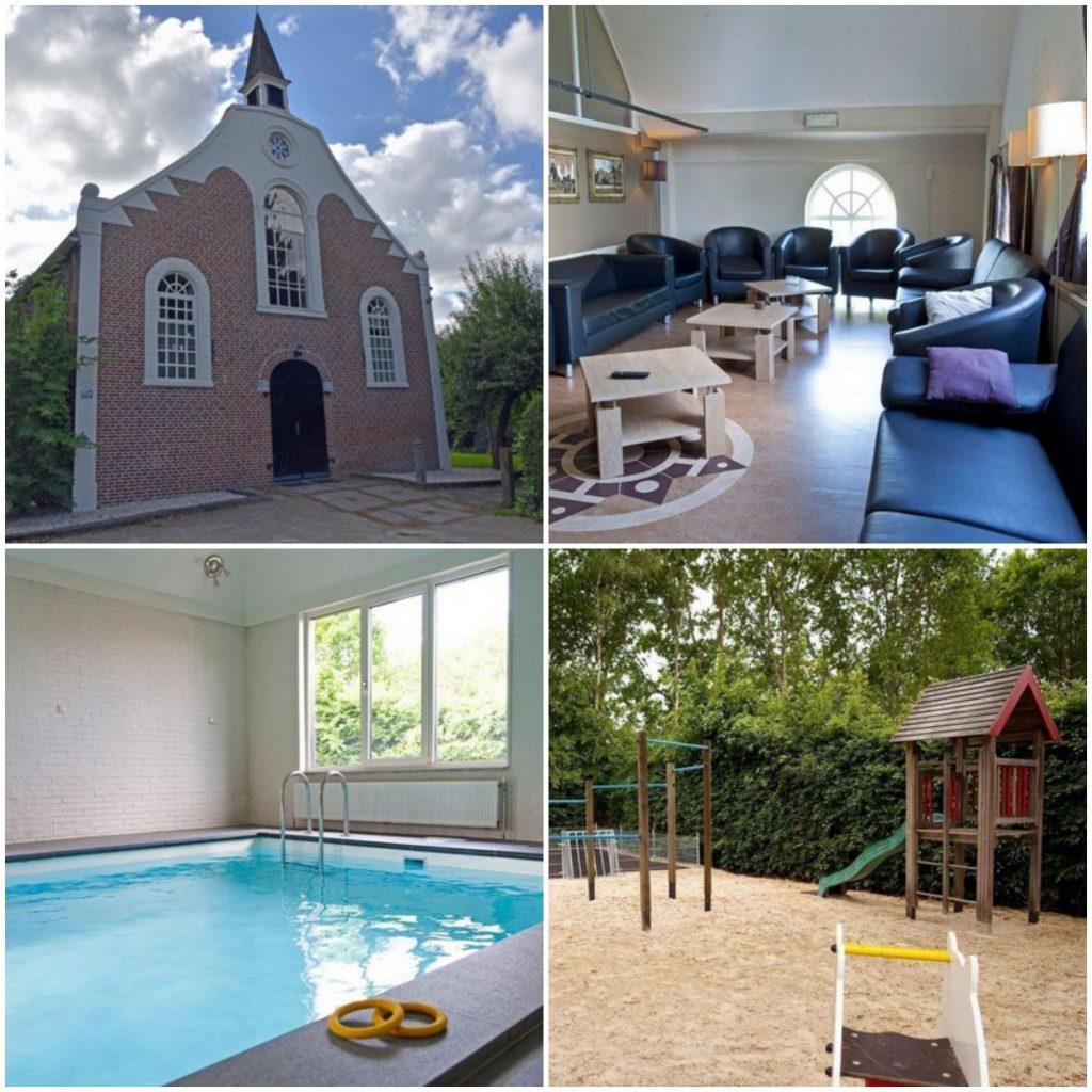 bijzonder overnachten kerk drenthe groepsaccommodatie nederland
