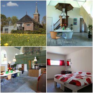 uniek overnachten kerk friesland nederland