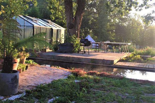 glamping vlaamse ardennen