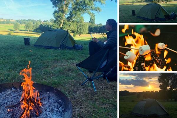 kamperen vlaamse ardennen