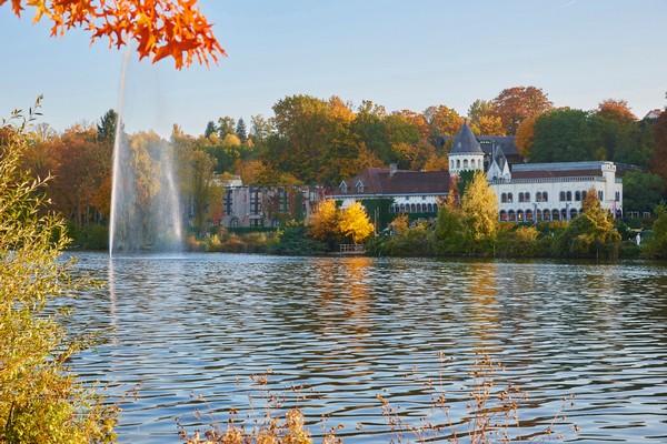 luxueus overnachten kasteelhotel  belgie