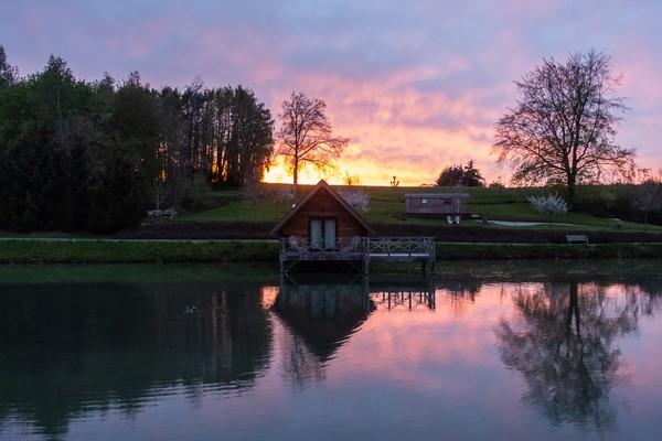 origineel overnachten water natuur belgie