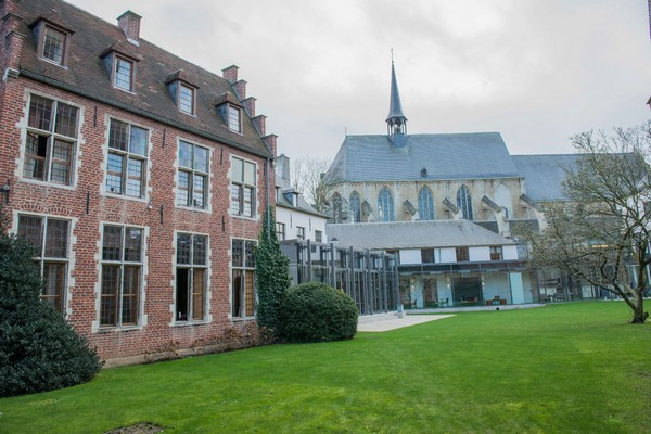 uniek overnachten klooster belgie leuven