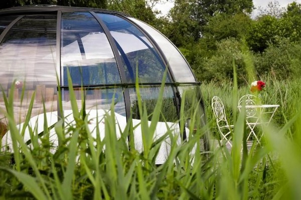 glamping wallonie belgie condroz