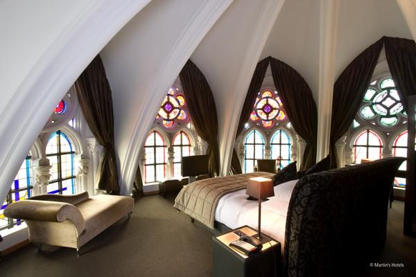uniek overnachten belgie mechelen kerk