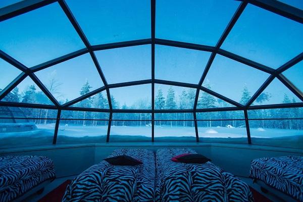 uniek overnachten finland iglo