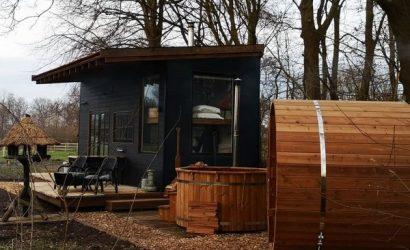 uniek overnachten tiny house belgie