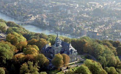 origineel overnachten kasteel belgie namen