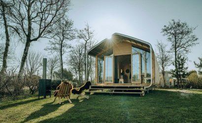 uniek overnachten wikkelhouse nederland zee