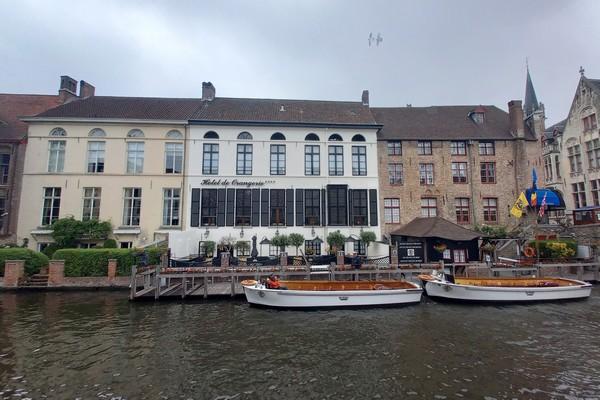 uniek overnachten belgie brugge klooster