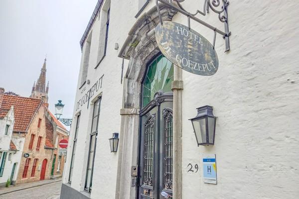 origineel overnachten belgie brugge klooster romantisch