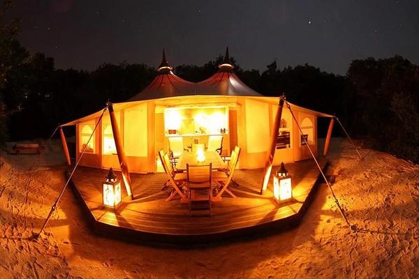 glamping tent camping frankrijk (2)
