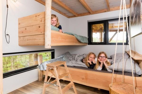 origineel overnachten boomhut nederland drenthe (3)