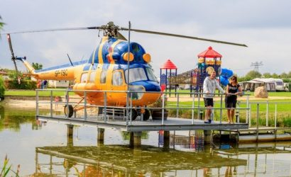 origineel overnachten glamping helikopter