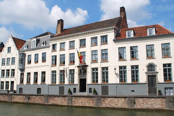 uniek overnachten belgie brugge romantisch