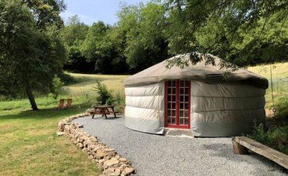 yurt glamping frankrijk morvan