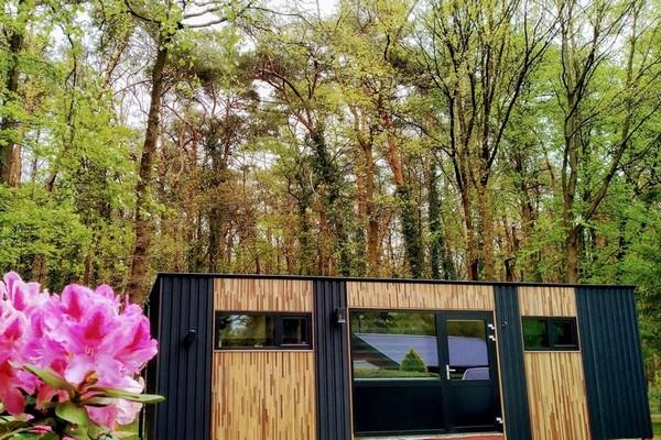 origineel overnachten tiny house belgie limburg