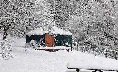 uniek overnachten yurt belgie glamping